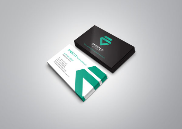 Emerald Business Card