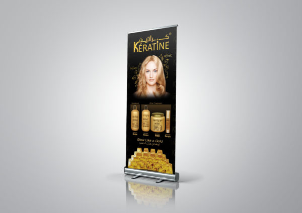 Keratin Gold Roll Up
