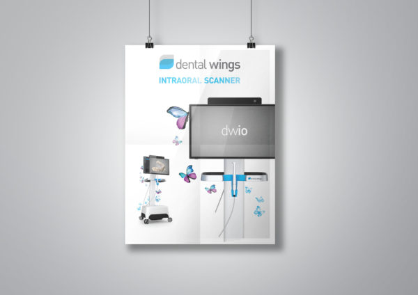 Dental Wings Paper Poster