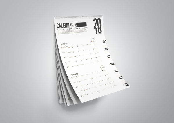 Yellow Pages Wall Calendar